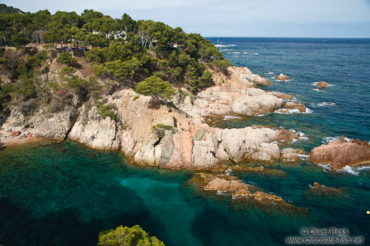 Small bay on the Costa Brava