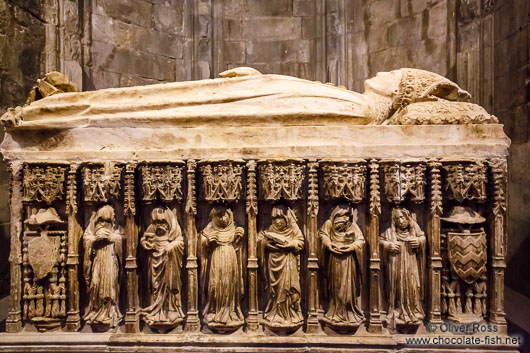 Tomb in Girona cathedral