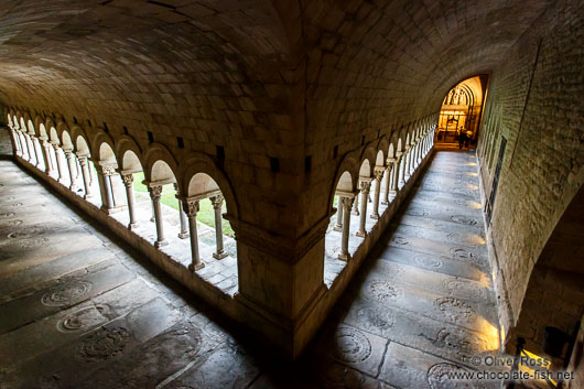 Cloister in Girona cathedral