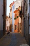 Travel photography:Small street in Begur, Spain
