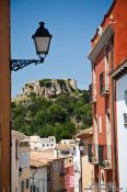 Travel photography:The castle in Begur, Spain