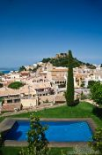 Travel photography:Begur castle, Spain