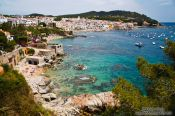 Travel photography:Calella de Palafrugell on the Costa Brava, Spain