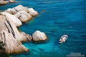 Travel photography:Boating along the Costa Brava, Spain
