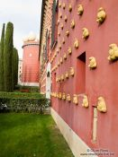 Travel photography:The Dalí museum in Figueres, Spain