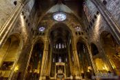 Travel photography:Girona cathedral, Spain