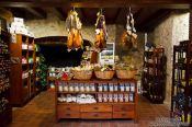 Travel photography:Delicatessen shop in Pals, Spain