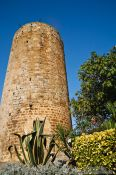 Travel photography:The tower in Pals, Spain