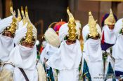 Travel photography:Procession for the Epiphany (Three Kings) celebrations in Sitges, Spain