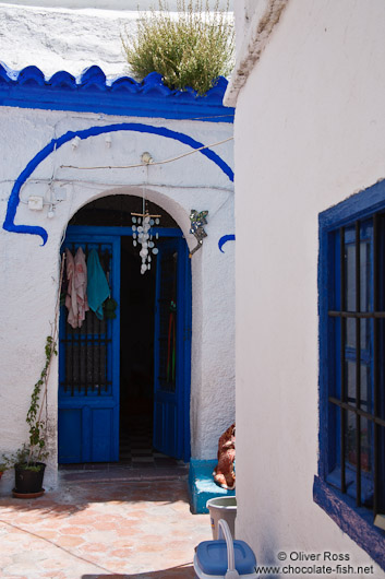 House in Granada`s Sacromonte district