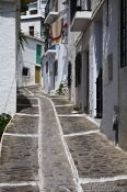 Travel photography:Street in Pampaneira, Spain