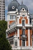 Travel photography:Madrid building, Spain
