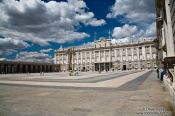 Travel photography:The Royal Palace in Madrid, Spain