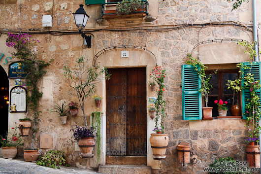 House in Valldemossa village