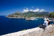 Travel photography:Port de Soller bay, Spain