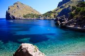 Travel photography:Bay at Sa Calobra, Spain
