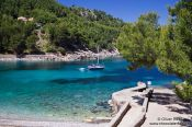 Travel photography:Small beach near Sa Calobra, Spain