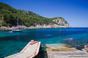Travel photography:Small bay near Sa Calobra, Spain
