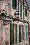 Travel photography:Houses in Valldemossa village, Spain