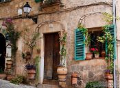 Travel photography:House in Valldemossa village, Spain