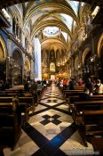 Travel photography:The main church at Montserrat monastery, Spain