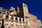 Travel photography:Montserrat monastery, Spain