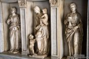 Travel photography:Sculptures at Montserrat monastery, Spain