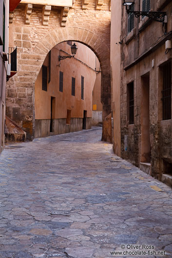 Street in the old town of Palma