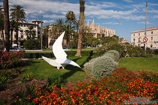 View of the Cathedral in Palma
