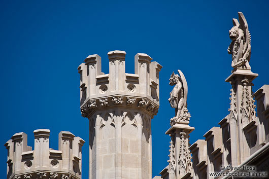 Gargoyles at the Palma city hall