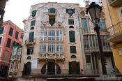 Travel photography:Old house in Palma, Spain