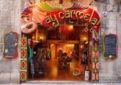 Travel photography:Shop in Palma, Spain