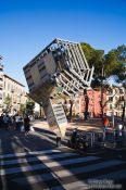 Travel photography:Upside down church in Palma, Spain