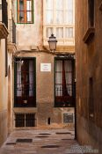 Travel photography:Street in old town Palma, Spain