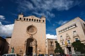 Travel photography:The St Fracesc Basilica in Palma, Spain