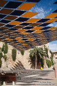 Travel photography:Open air stage between Palma´s city walls, Spain