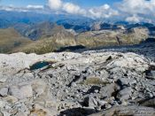 Travel photography:View from the ascent to the Aneto mountain, Spain