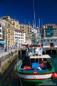 Travel photography:San Sebastian port, Spain