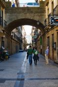 Travel photography:San Sebastian old town, Spain