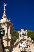 Travel photography:The Basilica of Saint Mary of the Chorus (Basílica de Nuestra Señora del Coro) in San Sebastian, Spain