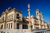 Travel photography:San Sebastian City Hall, Spain