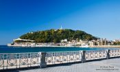 Travel photography:Isla de Santa Klara in San Sebastian, Spain