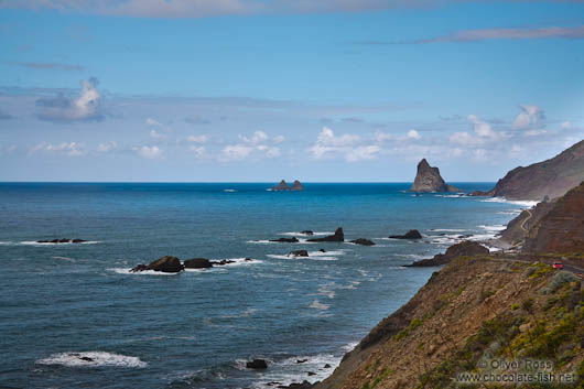 The Roques de Anaga on Tenerife