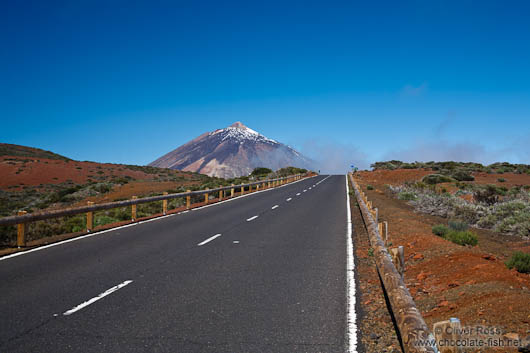 View of Teide Volcano