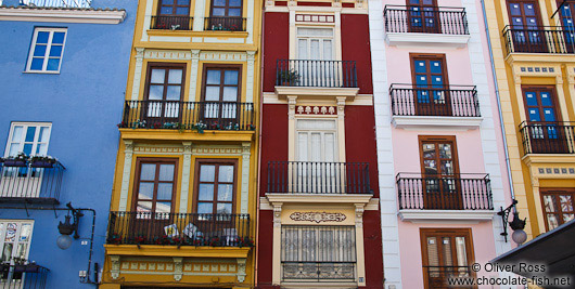 Houses in Valencia´s old town