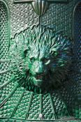 Travel photography:Lion head in Valencia, Spain