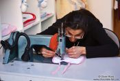 Travel photography:Seamstress in Valencia, Spain
