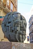 Travel photography:Sculpture in Valencia, Spain