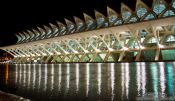 Travel photography:The science museum (Museo de las Ciencias) in the Ciudad de las artes y ciencias in Valencia, Spain