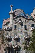 Travel photography:Barcelona Casa Batlló, Spain